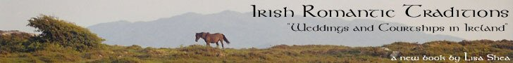 Irish Romantic Traditions - Wedding and Courtships in Ireland  A Book by Lisa Shea