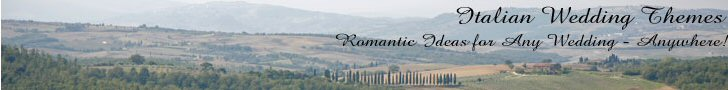 Italian Wedding Themes - Romantic Ideas for Any Wedding - Anywhere  A Book by Lisa Shea